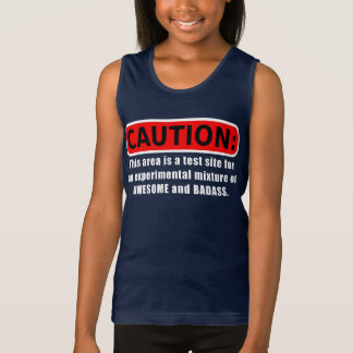 Awesome and Badass Tank Top