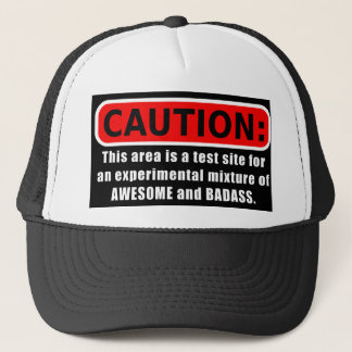 Awesome and Badass Trucker Hat