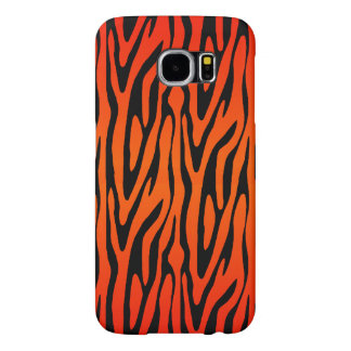 Awesome and Dramatic Zebra Skin Stripe Pattern Samsung Galaxy S6 Cases