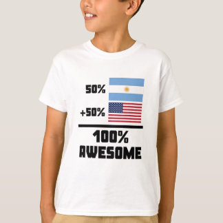 Awesome Argentinian American T-Shirt