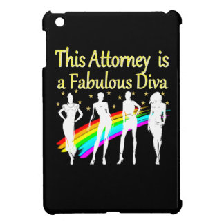 AWESOME ATTORNEY PARTY GIRL DESIGN COVER FOR THE iPad MINI