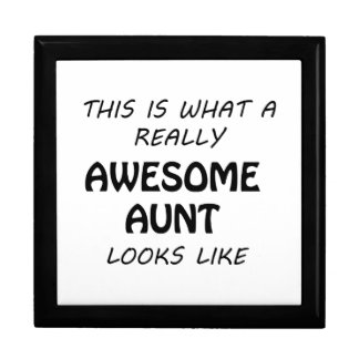 Awesome Aunt Gift Box