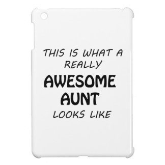 Awesome Aunt iPad Mini Cases