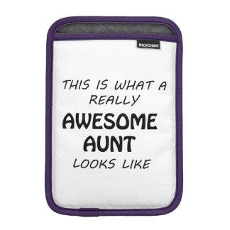 Awesome Aunt iPad Mini Sleeve