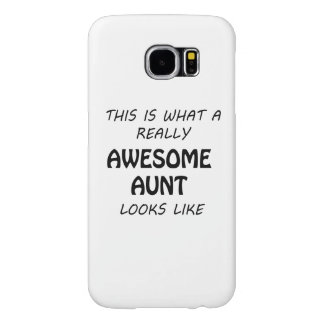 Awesome Aunt Samsung Galaxy S6 Cases