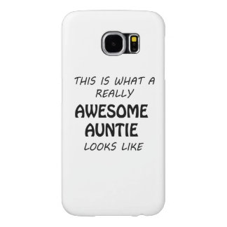 Awesome Auntie Samsung Galaxy S6 Cases