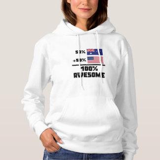 Awesome Australian American Hoodie