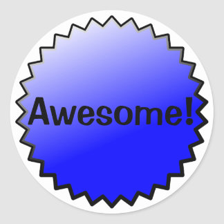 Awesome Award Stickers