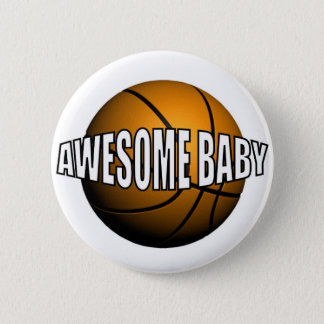 AWESOME BABY 2 INCH ROUND BUTTON