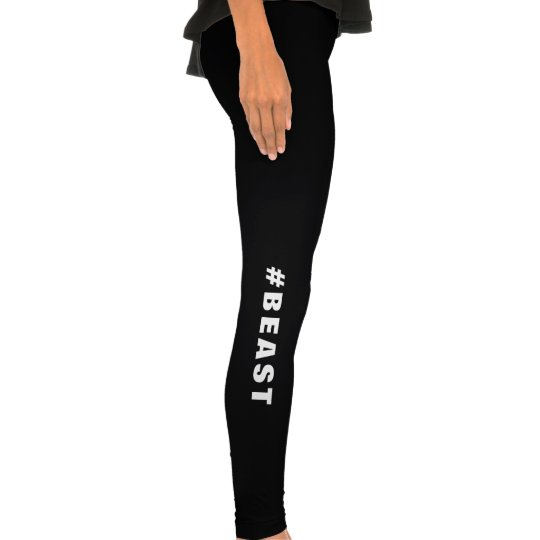 Awesome #BEAST Weightlifting Bodybuilder Legging Tights