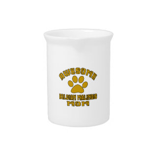 AWESOME BELGIAN MALINOIS MOM BEVERAGE PITCHER