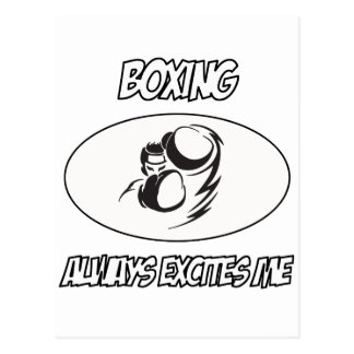awesome Boxing designs Postcard
