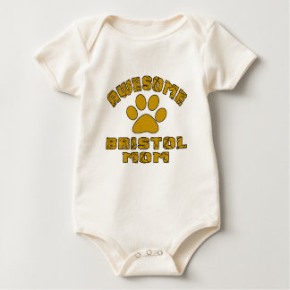 AWESOME BRISTOL MOM BABY BODYSUIT