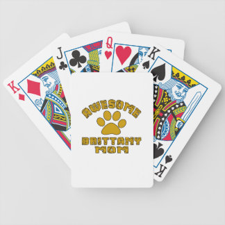 AWESOME BRITTANY MOM POKER DECK