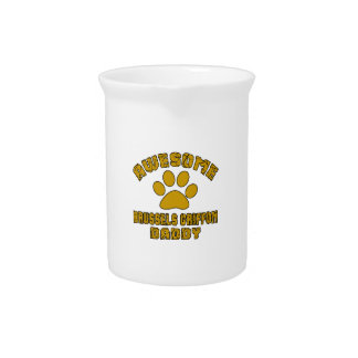 AWESOME BRUSSELS GRIFFON DADDY BEVERAGE PITCHER