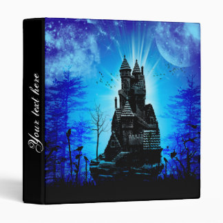 Awesome castle in the night binders
