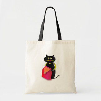 awesome cats: go shopping or back to school tote bag