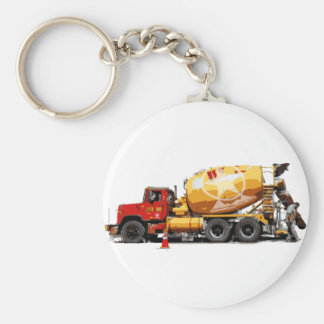 Awesome Cement Truck #6 Keychain
