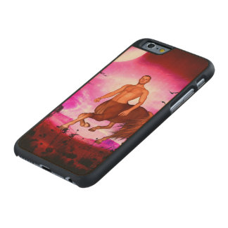 Awesome centaur in the night carved® maple iPhone 6 case