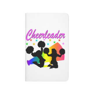 AWESOME CHEERLEADER MEGAPHONE DESIGN JOURNALS