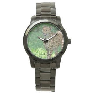 Awesome cheetah watch