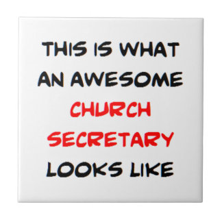 awesome church secretary tiles