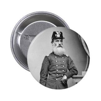 Awesome Civil War Beard 1860s Pin