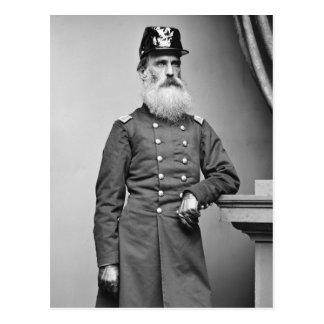 Awesome Civil War Beard, 1860s Postcard