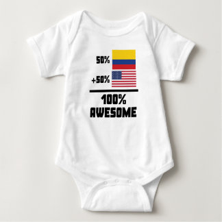 Awesome Colombian American Baby Bodysuit