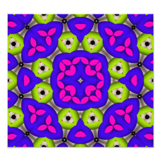 Awesome colorful pattern photo