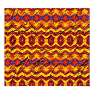 Awesome colorful pattern art photo
