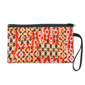 Awesome Colorful Vintage Inspired Photo Design Wristlet Clutch