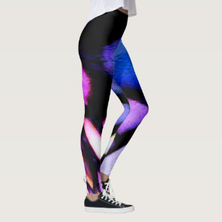 Awesome Colors Mosaic Inspired Leggings