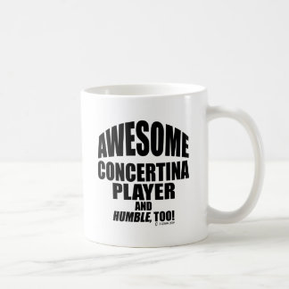 Awesome Concertina Player Coffee Mug