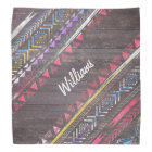 Awesome Cool trendy Aztec tribal Andes wood Bandana