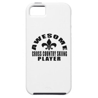 AWESOME CROSS COUNTRY SKIING PLAYER iPhone 5 COVER