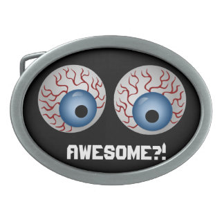 Awesome Customize Edit Change Background Color Oval Belt Buckle