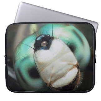 Awesome Cute Cool Whimsical Smiling Dragonfly Laptop Sleeve