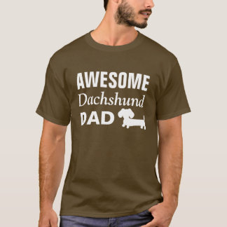 Awesome Dachshund Dad Shirt