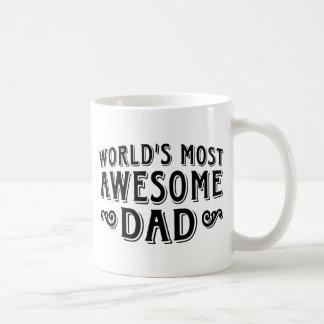 Awesome Dad Classic White Coffee Mug