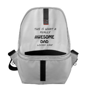Awesome Dad Commuter Bag