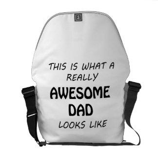 Awesome Dad Messenger Bag