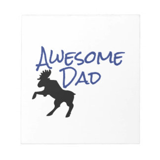 Awesome Dad Notepads