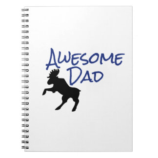 Awesome Dad Spiral Note Books
