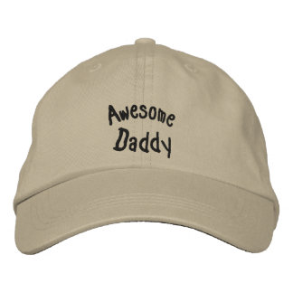 Awesome Daddy Embroidered Hat