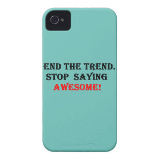Awesome Don't Say It iPhone 4 Cases