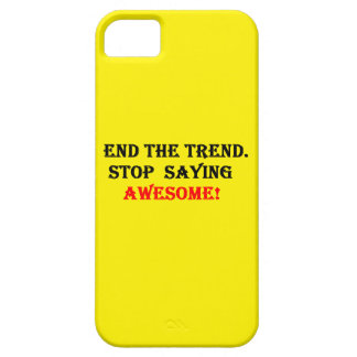 Awesome Don't Say It iPhone 5 Cover