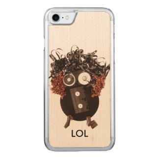 Awesome Emoji Analog Media LOL Handmade Carved iPhone 8/7 Case