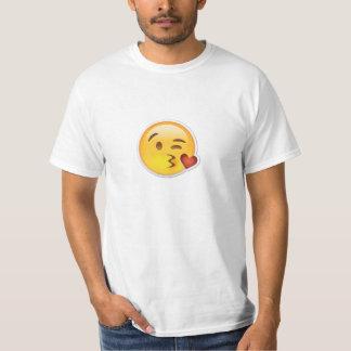 Awesome Emoji Kissing T-Shirt