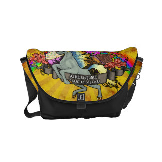 """Awesome Explosion"" Commuter Bag"